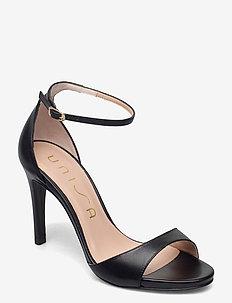 YAGUE_NA - højhælede sandaler - black