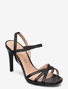 YAMALI_NS - højhælede sandaler - black