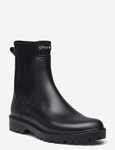 AYNAR_F21_RIB - chelsea boots - black