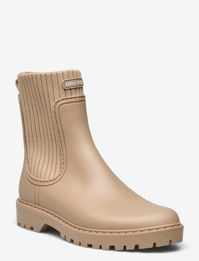 AYNAR_F21_RIB - chelsea boots - taupe