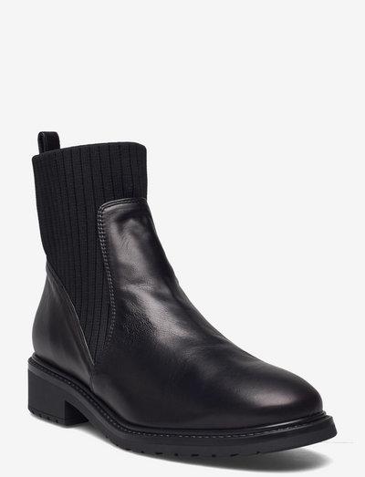 ELLEN_F21_VU - chelsea støvler - black