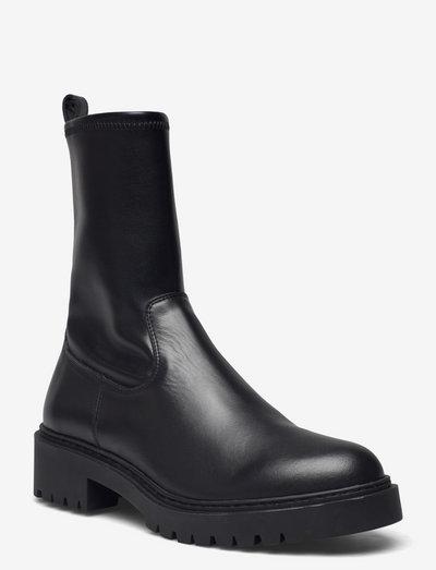 GUIDO_NF_STB - flade ankelstøvler - black