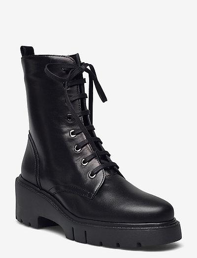 JRISO_F21_VU - flade ankelstøvler - black
