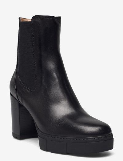 KUBEL_F21_VU - ankelstøvler med hæl - black