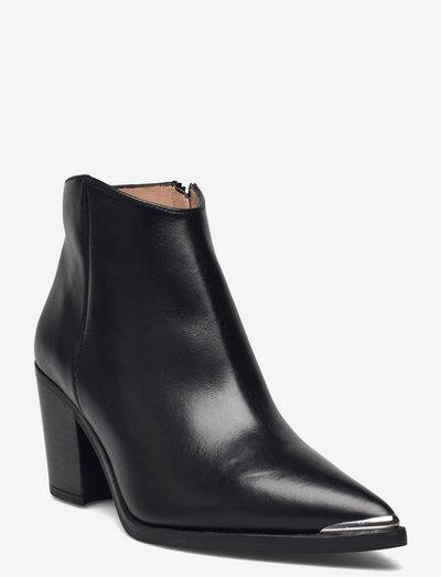 MODOR_SCO - ankelstøvler med hæl - black
