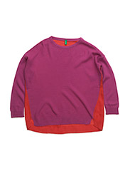 SWEATER L/S - PINK RED