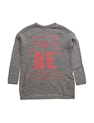 SWEATER L/S - GREY