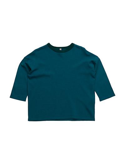 SWEATER L/S - PETROL BLUE