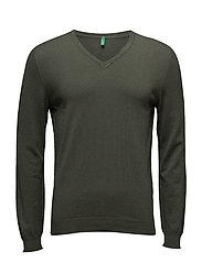 V NECK SWEATER L/S - 80W