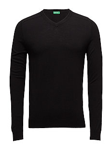 V NECK SWEATER L/S - 100