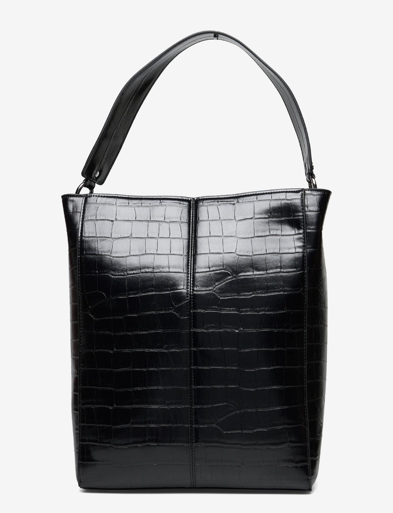 Unlimit - Unlimit shopper Carry - bucket bags - black - 0