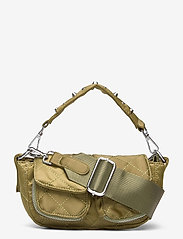 Unlimit - Unlimit shoulder bag Ellery - handväskor - green quilt - 0