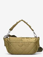 Unlimit - Unlimit shoulder bag Ellery - handväskor - green quilt - 1