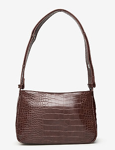 Unlimit shoulder bag Kerry - olkalaukut - dark brown