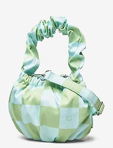 Unlimit shoulder bag Cecily - bucket-laukut - check print