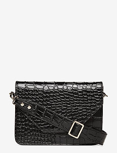 Unlimit shoulder bag Rosemary - skuldertasker - black