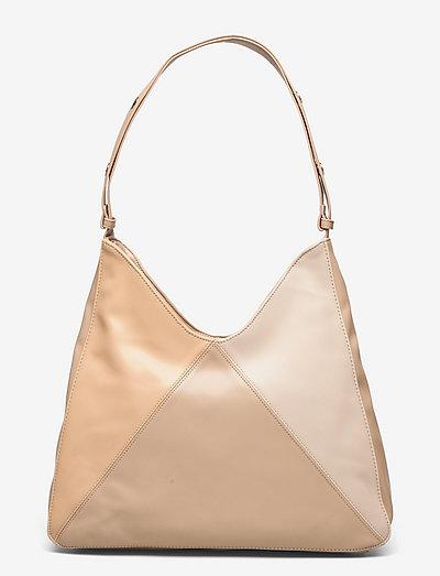 Unlimit shoulder bag Ivy - axelremsväskor - latte