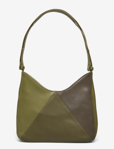 Unlimit shoulder bag Dorota - axelremsväskor - dark green