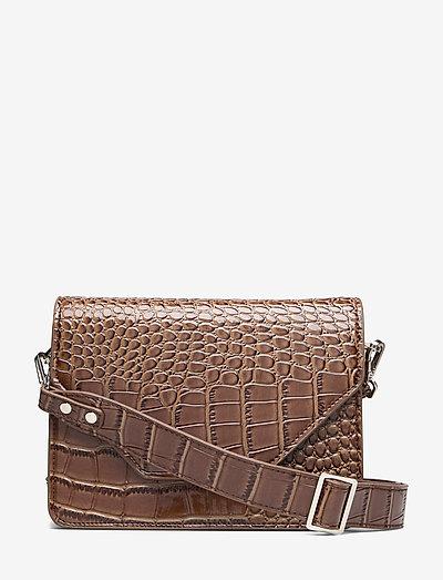 Unlimit shoulder bag Rosemary - crossbody bags - dark brown