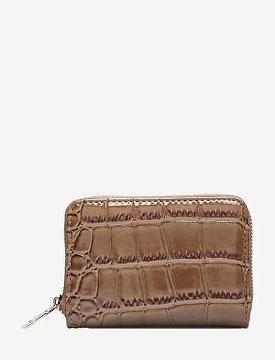 Unlimit wallet Holly - plånböcker - dark brown