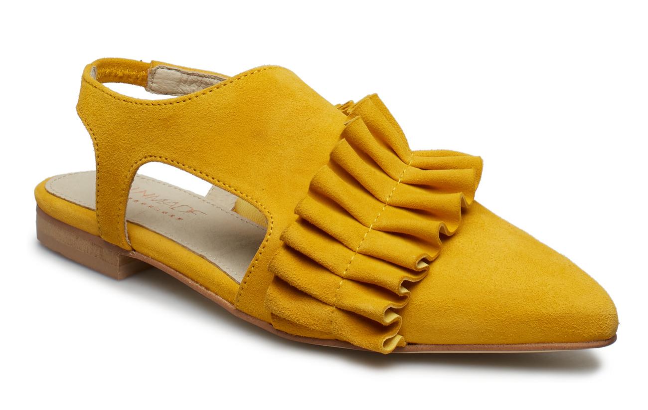 UNMADE Copenhagen Valentina shoe - OLD GOLD