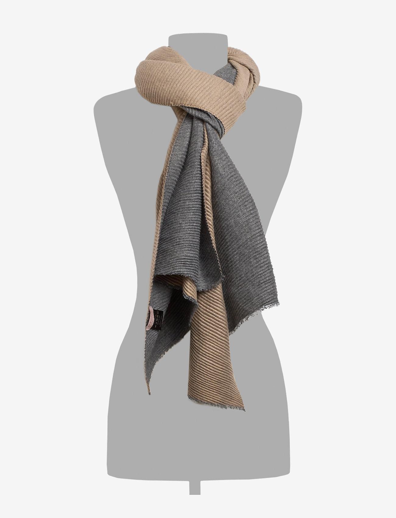 UNMADE Copenhagen Elnora scarf - Szaliki i chusty BEIGE - Akcesoria