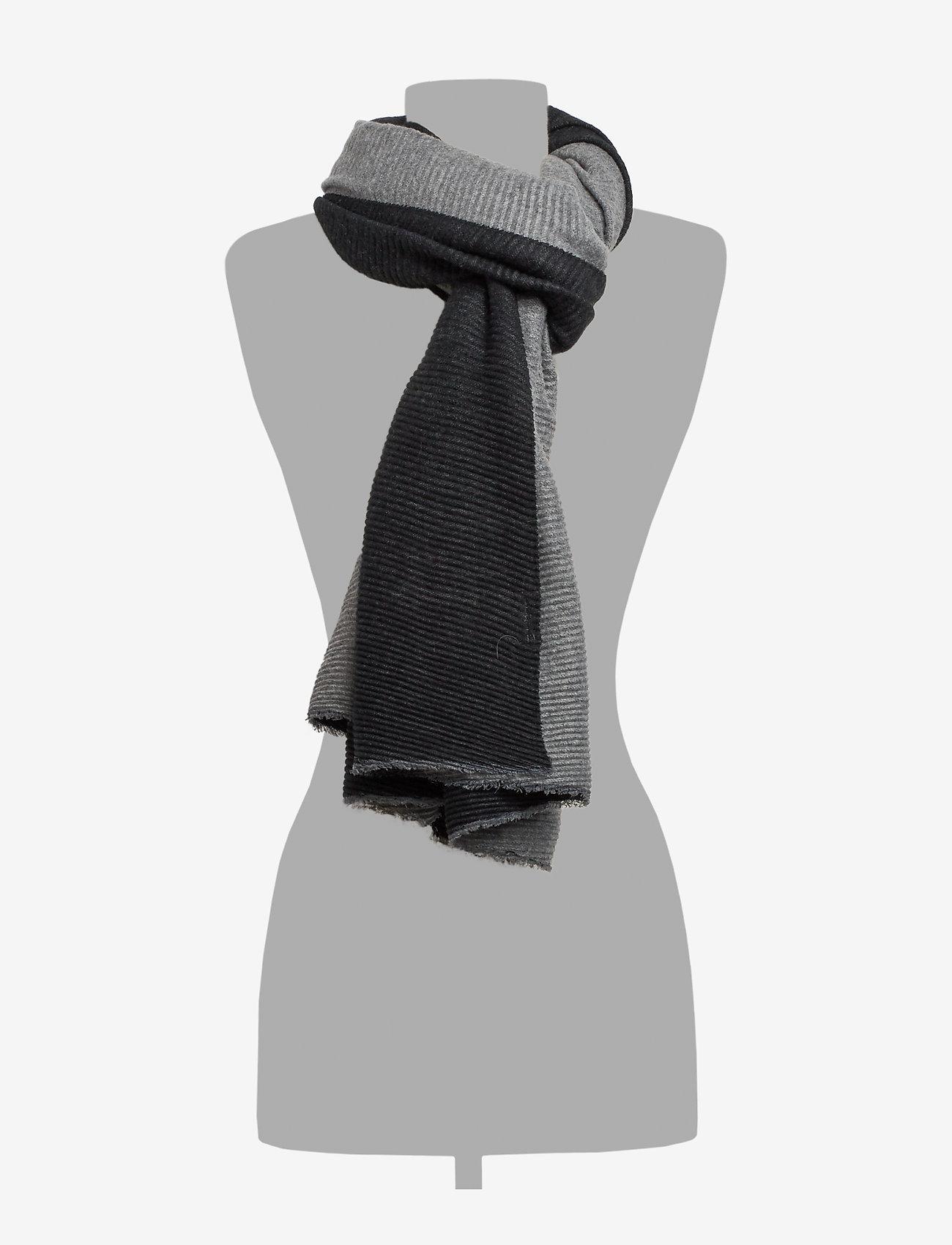 UNMADE Copenhagen Elnora scarf - Szaliki i chusty BLACK - Akcesoria