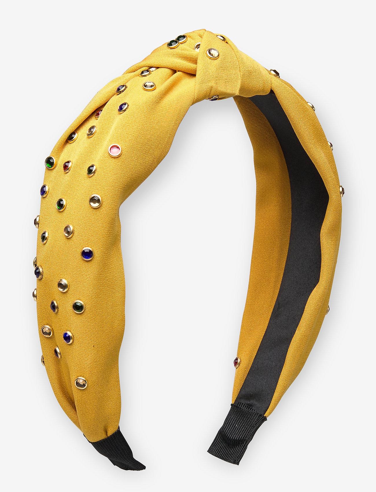 UNMADE Copenhagen - Jaime Hairband - akcesoria do włosów - honey yellow