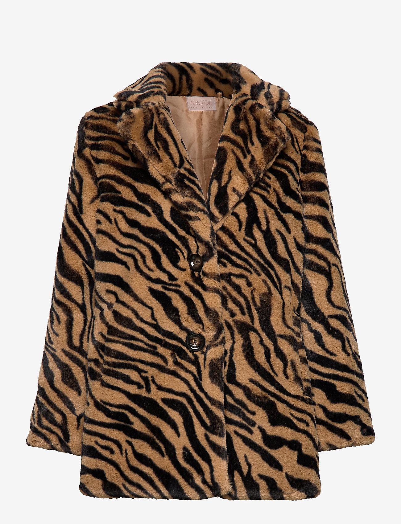 UNMADE Copenhagen - Jennabel jacket - sztuczne futro - tiger - 0