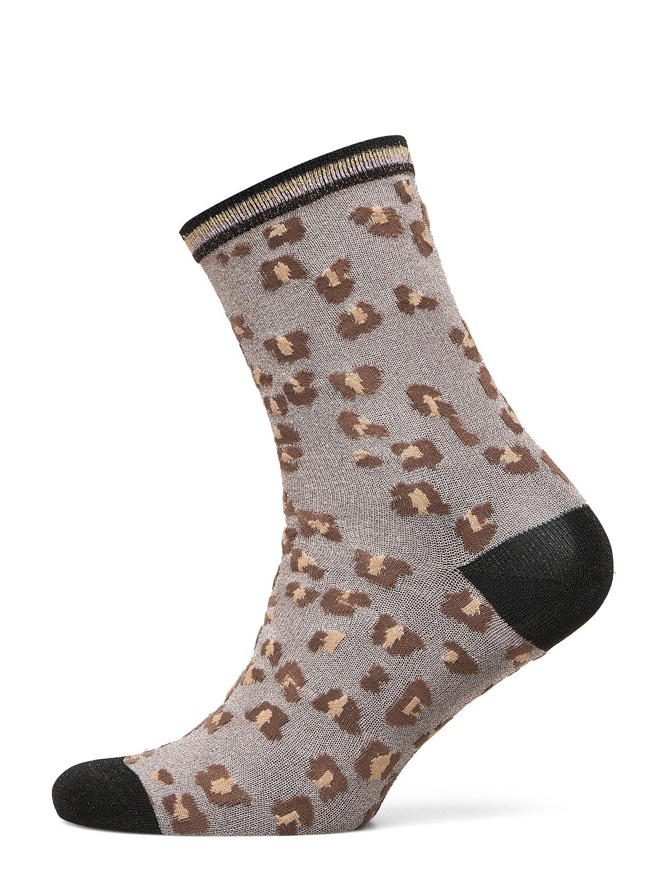 UNMADE Copenhagen Caree sock - CHOCOLATE