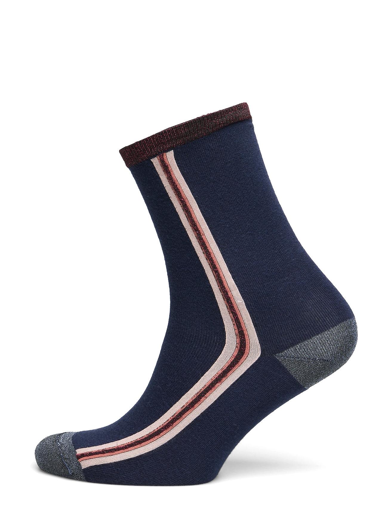UNMADE Copenhagen Elinor sock - NAVY BLUE