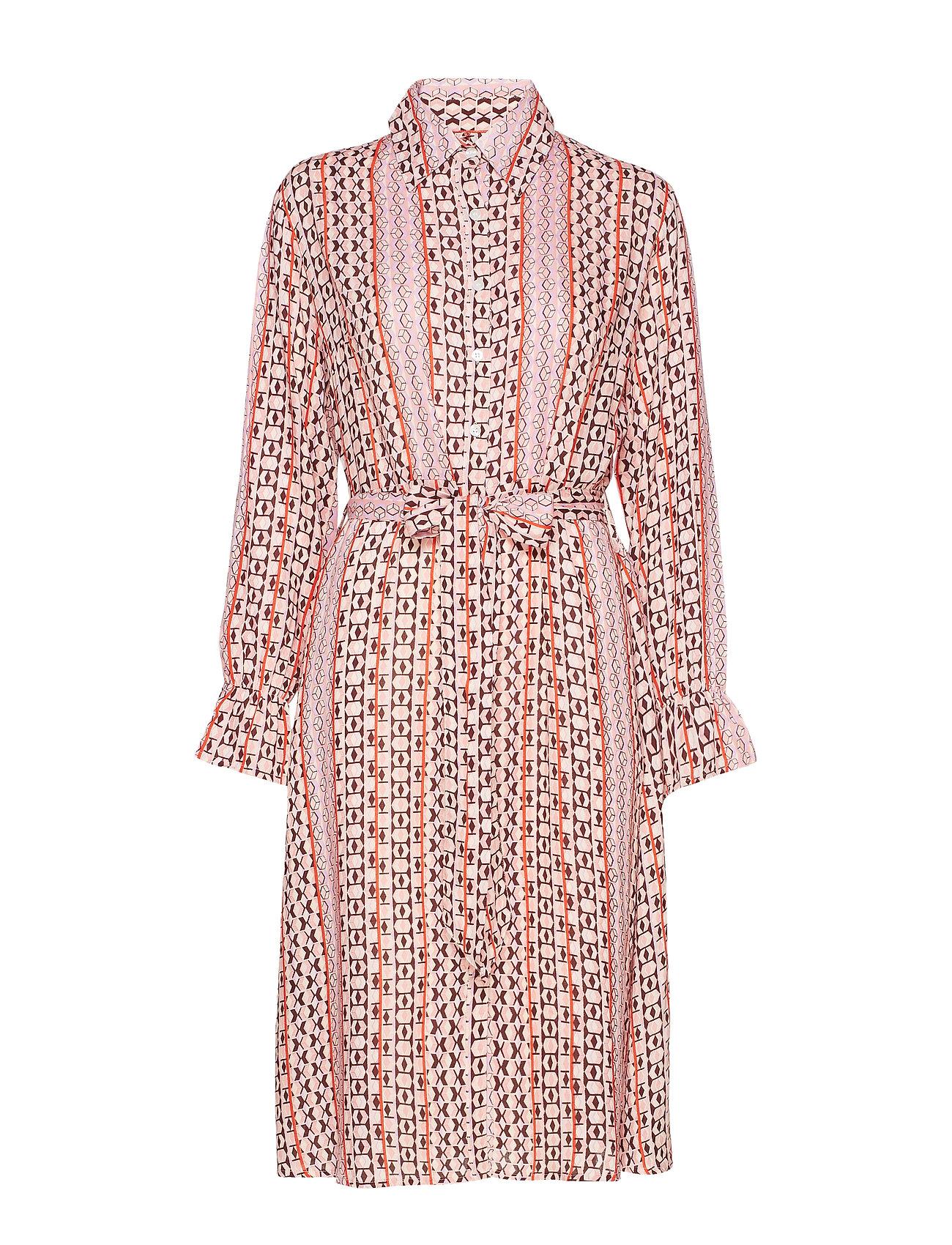 UNMADE Copenhagen Edie dress - SHOCKING PINK