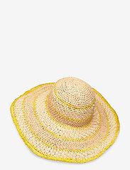 UNMADE Copenhagen - Amina Hat - hatte - yellow - 1