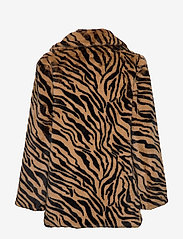 UNMADE Copenhagen - Jennabel jacket - sztuczne futro - tiger - 1