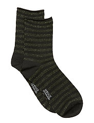 Claudine Sock - BLACK