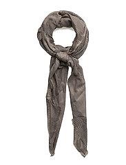 Topografic scarf - GREY