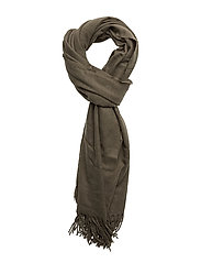 Solid color scarf - KHAKI