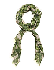 Wild cactus scarf - LIME GREEN