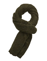 Deline Scarf - BOTTLE GREEN