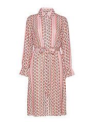 Edie dress - SHOCKING PINK