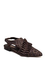 Valentina shoe - BROWN