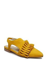 Valentina shoe - OLD GOLD