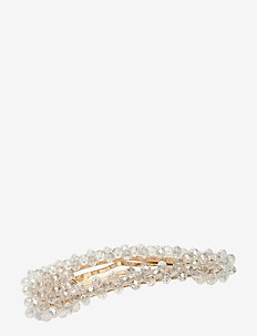 Hinda Hair Clip - hår accessories - white