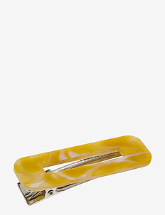 Azza Hair Clip - hår accessories - yellow