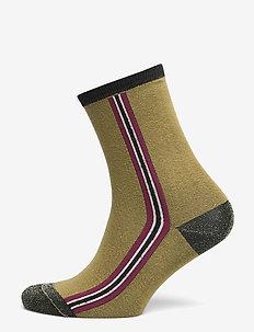 Elinor sock - GREEN LENTIL