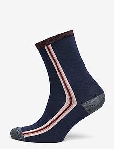 Elinor sock - NAVY BLUE