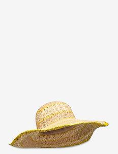 Amina Hat - yellow
