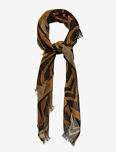 Petula Scarf - skjerf - bronze brown
