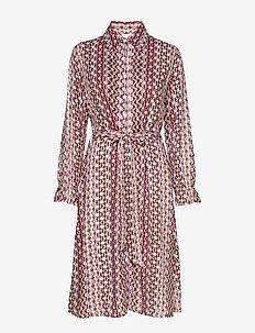 Edie dress - PERSIAN VIOLET
