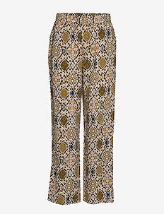 Omra Pants - vide bukser - bronze brown